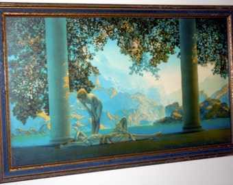 Maxfield Parrish Original 1923 Large Daybreak Art Print House of Art