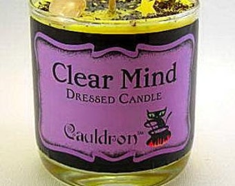 Clear Mind Scented Jar Candle