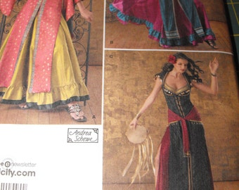 Womens Handmade Gypsy/ Bollywood Costume