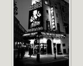 "London, Cambridge Theatre A4 (8,2""x 11,7"")  (21 x 29,7 cm)  Black and white.Photographs of England. Covent Garden.Europe,art."