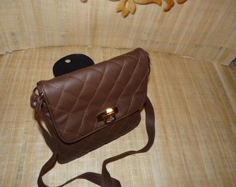 51-02-102-005 - Brown Shoulder Bag  Purse
