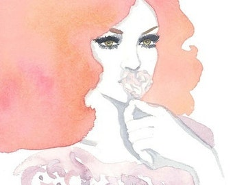 Fashion illustration Print