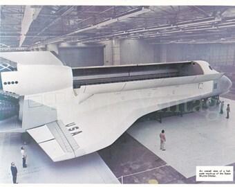 Full Scale Space Shuttle Orbiter Mock Up Photo