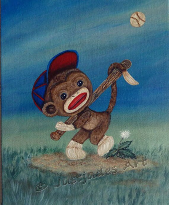 monkey-playing-baseball Images - Frompo - 1