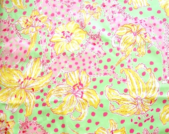 "18"" x 20"" Lilly Pulitzer Fabric  Fille for Lillies"