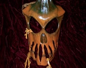 Twisted Pumpkin Leather Mask