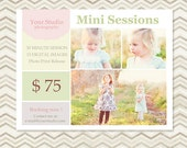 Mini Session - Photography Marketing Template 001 - C011, INSTANT DOWNLOAD
