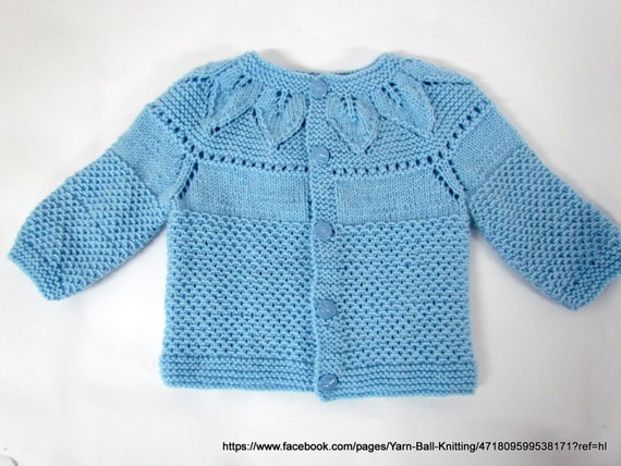 Handmade Knitted Baby Clothes