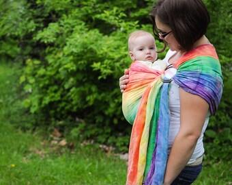Items Similar To Custom Baby Sling Snugglebug Reversible