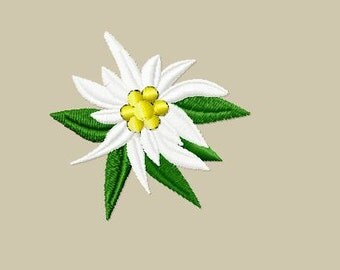 Embroidery pattern - Edelweiss