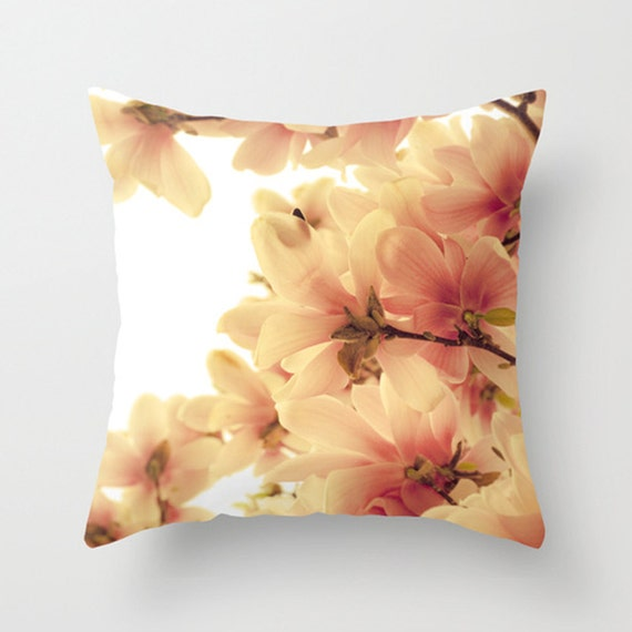 Pink Decorative Pillow Covers : Decorative Pillow Cover Living Room Pink Pillow White Pillow