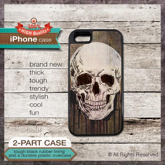Skull Bones - iPhone 6, 6+, 5 5S, 5C, 4 4S, Samsung Galaxy S3, S4 Geo Triangles Design Cover 99B