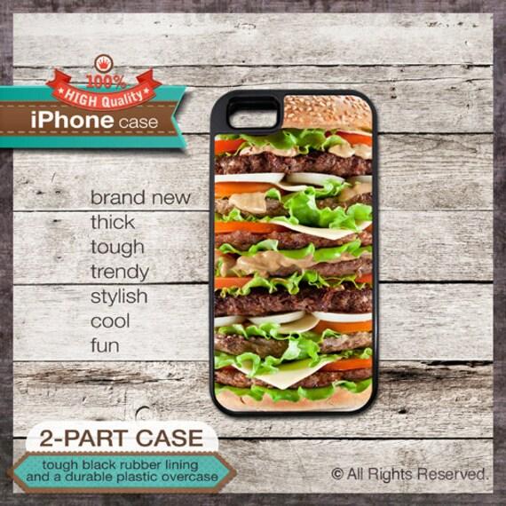 Large Hamburger design iPhone Case 145