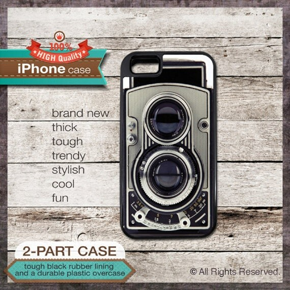 Camera vintage design - iPhone 6, 6+, 5 5S, 5C, 4 4S, Samsung Galaxy S3, S4 - Cover 151