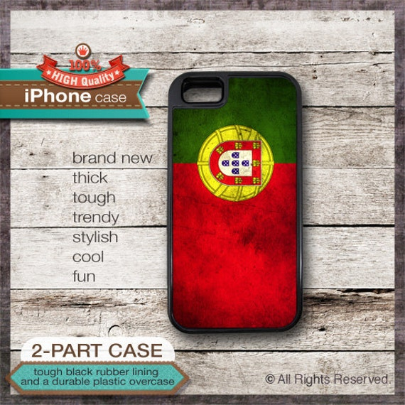 Portugal Flag - iPhone 6, 6+, 5 5S, 5C, 4 4S, Samsung Galaxy S3, S4