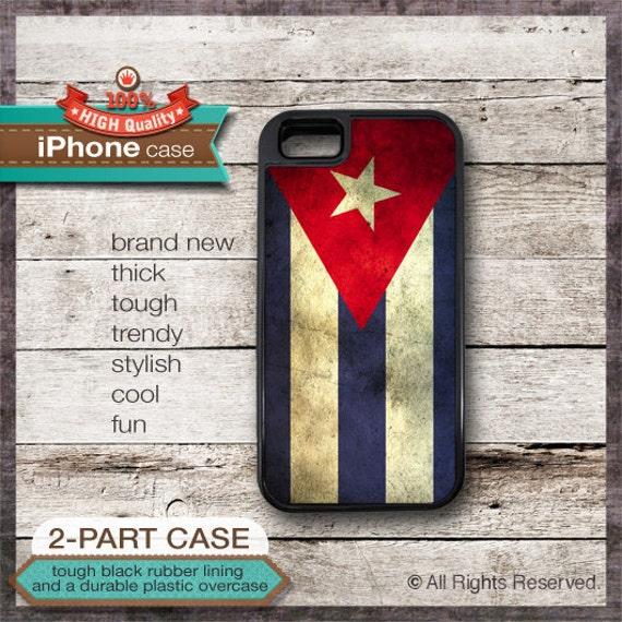 Cuba Flag - iPhone 6, 6+, 5 5S, 5C, 4 4S, Samsung Galaxy S3, S4