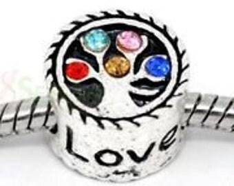 FamilyTree charm for european style bracelet