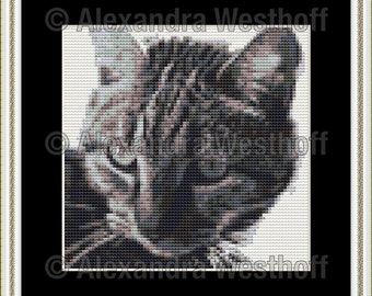 "cross stitch chart ""Minerva"""
