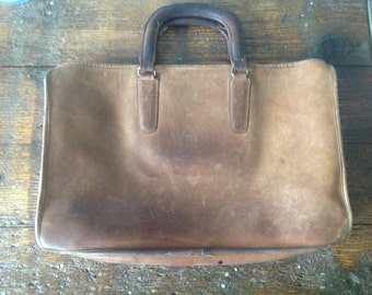Vintage Coach Handbag Briefcase
