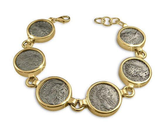 silver coin jewelry ancient coin jewelryroman by
