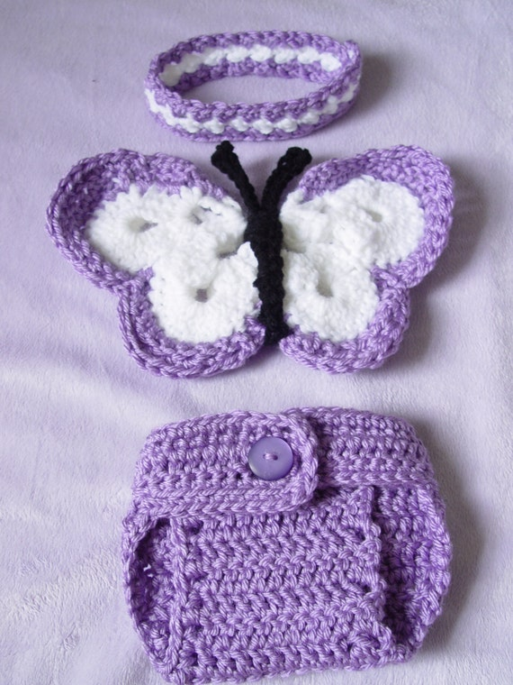 Sale 25 Off Newborn Crochet Butterfly Wings Diaper Cover