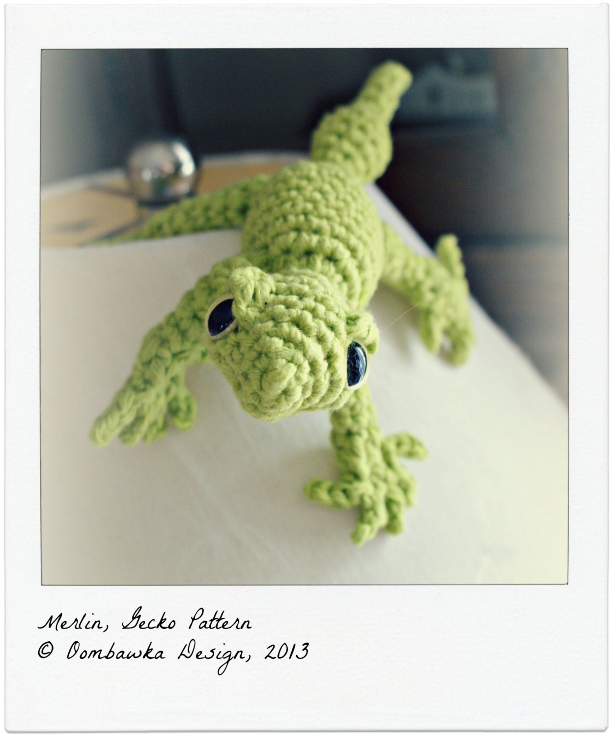 Amigurumi Halloween Free Patterns : MERLIN Gecko Crochet Pattern
