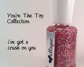 Full Sized 15 ml I've Got A Crush On You handcrafted nail polish
