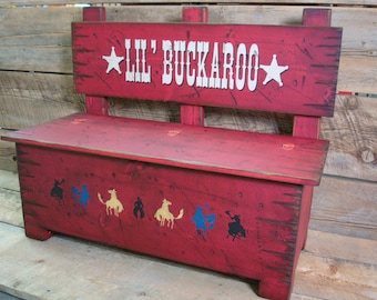 Toy box bench, Kid's storage for toys and more, Furniture for kid's room, Bench