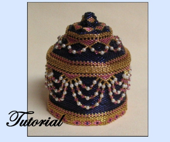 The Bead-Jewelled Box And Necklace