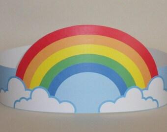 Rainbow Crown - Printable