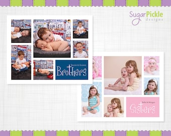 Story board template, 16x20 Collage template, Blog Board, Brothers Collage, 16x20 Collage, Story board, Storyboard