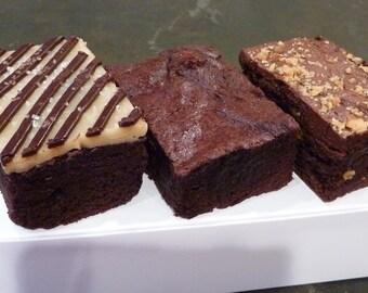 Brownie Sampler (Gluten-free, Soy-free, Vegan)