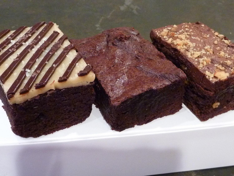 Brownie Sampler Gluten Free Soy Free Vegan