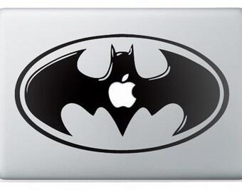 Apple Macbook Batman decal