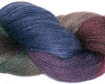Mohair merino 2ply  laceweight shade 291
