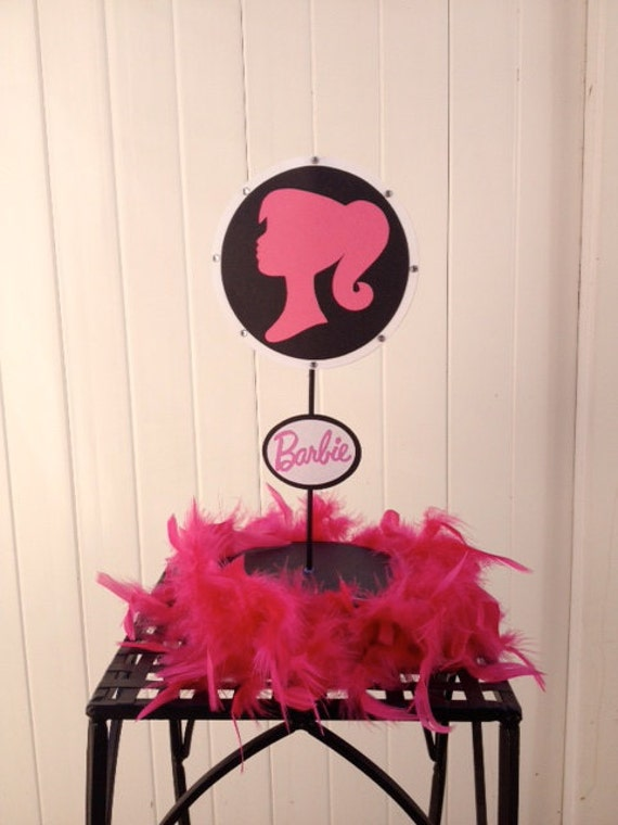 barbie centerpiece barbie baby shower centerpiece barbie banner