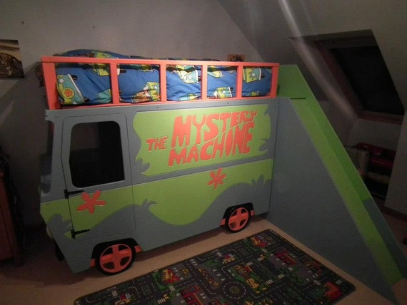 Items Similar To Scooby Doo Mystery Machine Bed On Etsy