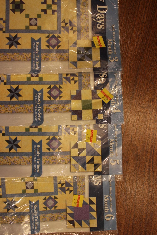 Vintage block a month edred by joann telas