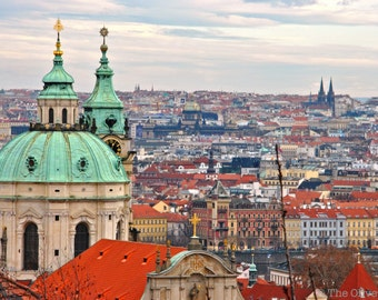 Prague Czech Republic Digital Photo JPG File - FREE SHIPPING - Ready to print digital photography