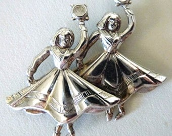Vintage Sterling Silver Pin by Beau Sterling