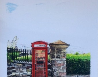 Red Telephone Box - Special Edition Giclee Print