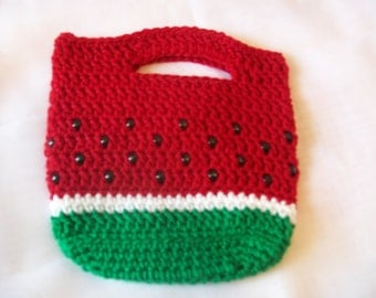Crochet Purse- Watermelon