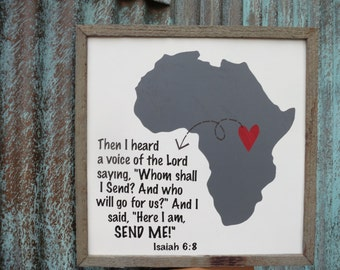 I Love Africa (Isaiah 6:8)