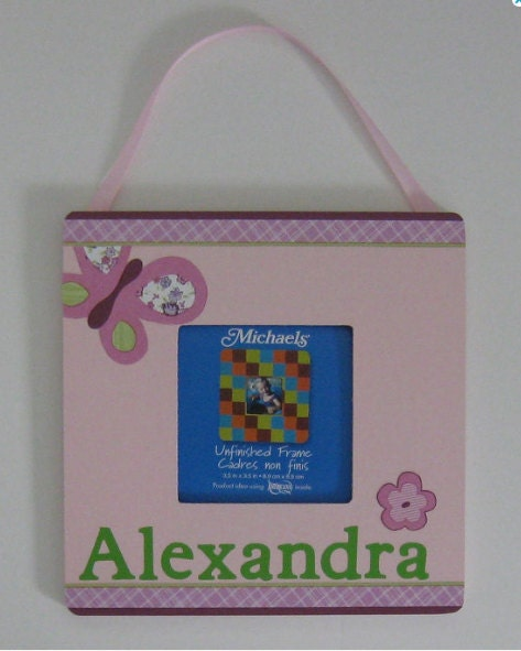 Sugar Plum Wall Picture Frame M2m Cocalo Nursery Bedding Name