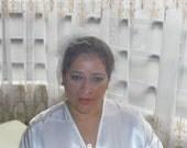 Bridal veil, traditional veil, tulle veil, summer veil, short veil, flower veil
