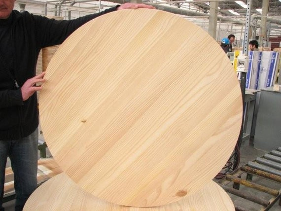 Unfinished Pine Round 30 For Table Top Or Sign By