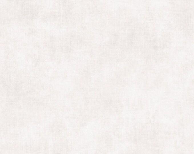 One Yard Riley Blake Linen Basic Shade Cotton Blender Quilt Fabric - White