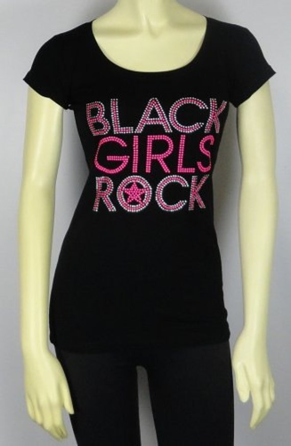 Black Girls Rock Pink T-Shirts