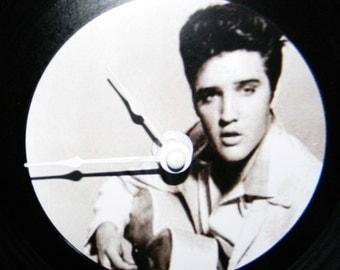 ELVIS PRESLEY Inspired Vinyl Record Wall Clock
