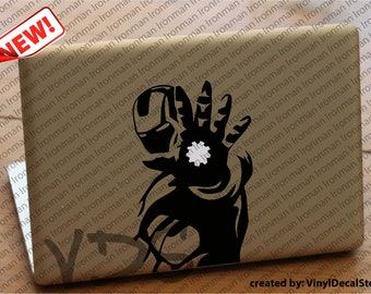 MAC MACBOOK Laptop Vinyl Decal Sticker Ironman